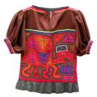 Mola Blouse turtle