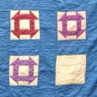 Quilt Amish Hole in the Barn Crib