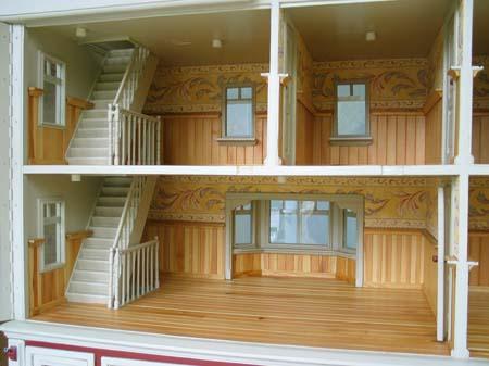 Poppenhuis van eline berthi 39 s weblog for Groot poppenhuis